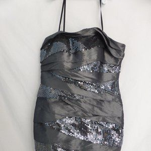 CITY STUDIO, size 5, grey and silver dress BNWT